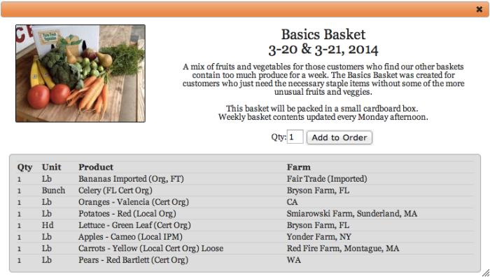 Berkshire Organics List 3-22