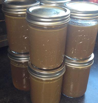 stock in jars