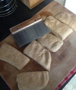 cutting dough