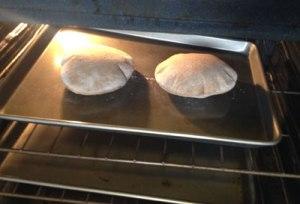 baking pitas