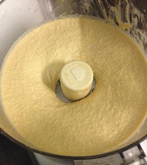 pureed hummus