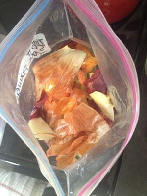 soup stock freezer bag