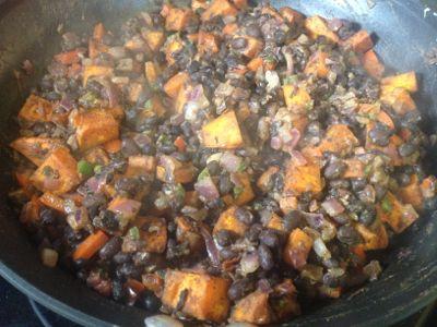 potato bean filling