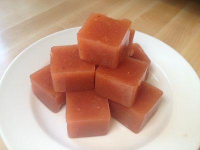 homemade gummy fruit snacks