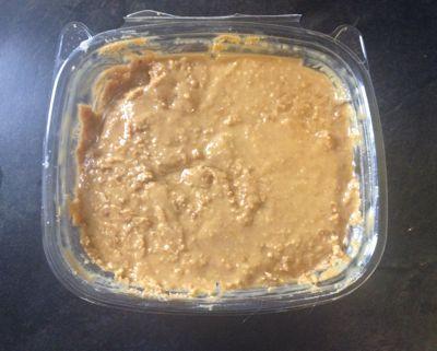 fresh ground peanut butter