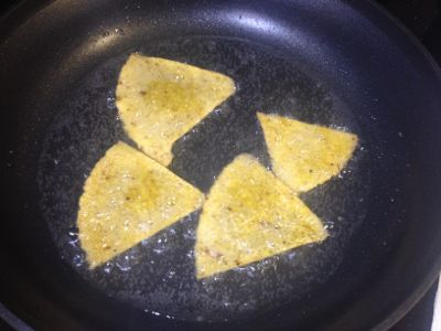 frying chips