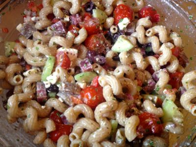 pasta salad #realfood