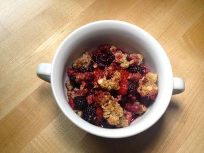 berry cobbler #realfood